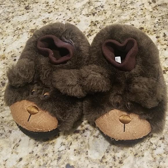 4d9451255e8e L.L. Bean Other - Teddy bear slippers